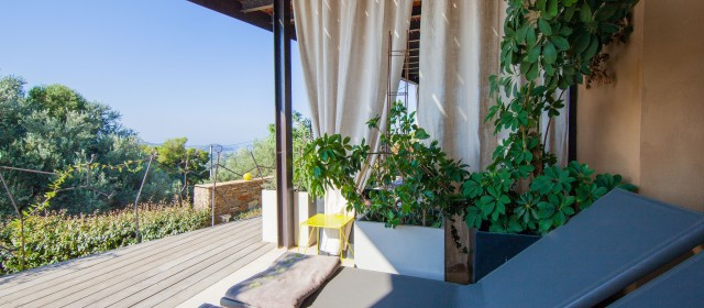 Terrasse chambre Topaze